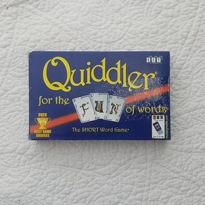 Quiddler for the of words